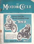 The Motor Cycle - Motorcycle Magazine - 12th Mrach 1949 - M2477